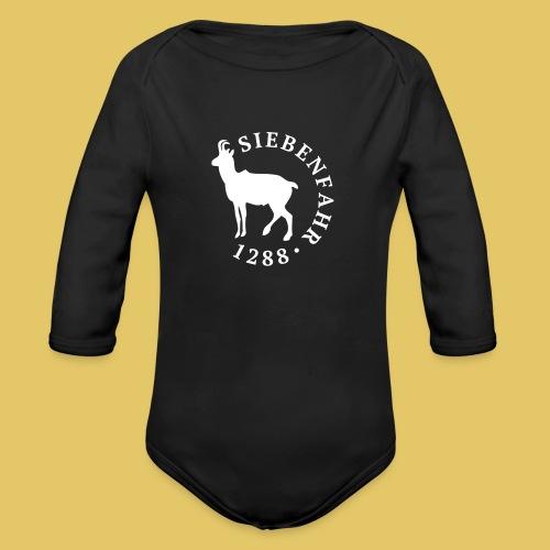 Siebenfahr 1288 (2016) M - Baby Bio-Langarm-Body
