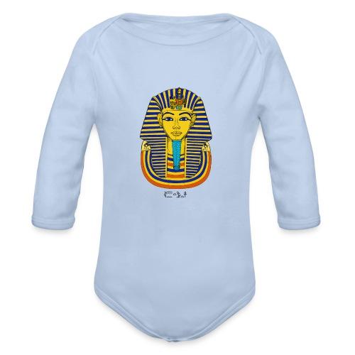 Pharao Tutanchamun - Baby Bio-Langarm-Body