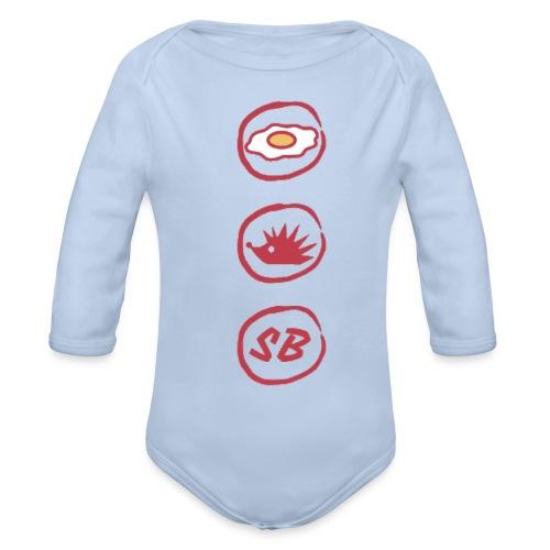 Up The Birds - Organic Longsleeve Baby Bodysuit