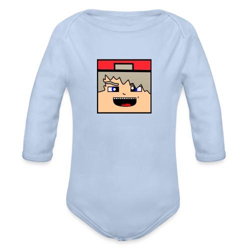 Offisielle Heirish logoen! - Økologisk langermet baby-body