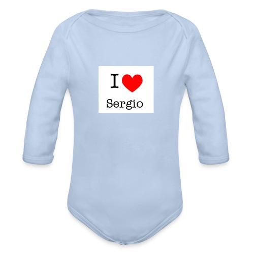 i love sergio - Body bébé bio manches longues