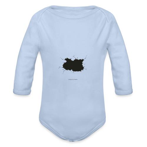 Parte rota - Body orgánico de manga larga para bebé