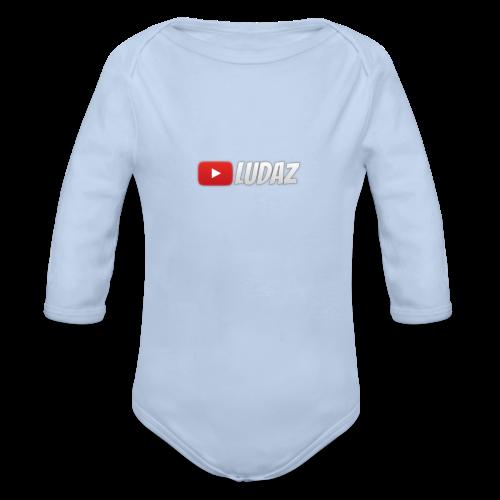 Ludaz badge - Organic Longsleeve Baby Bodysuit