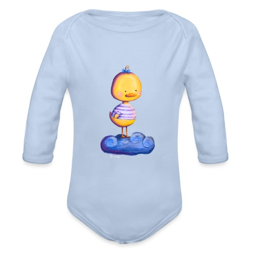 Entchen im Traumland - Baby Bio-Langarm-Body