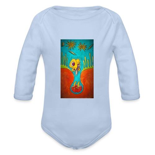 Kotelo - Vauvan pitkähihainen luomu-body