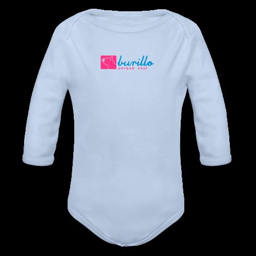 Burillo - Baby Bio-Langarm-Body