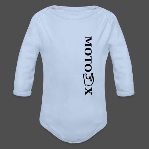 moto x - Baby Bio-Langarm-Body