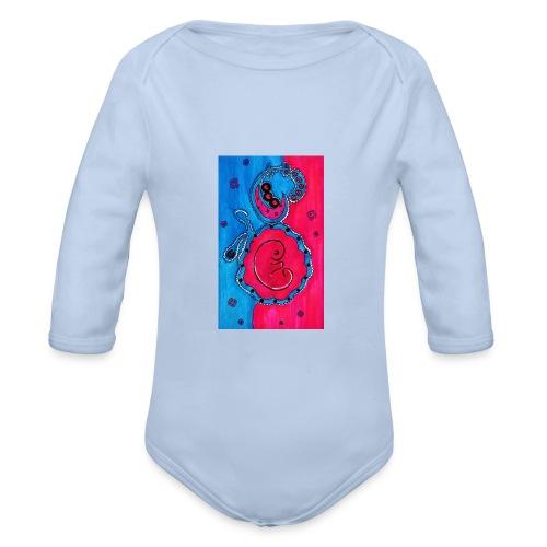 Born - Vauvan pitkähihainen luomu-body