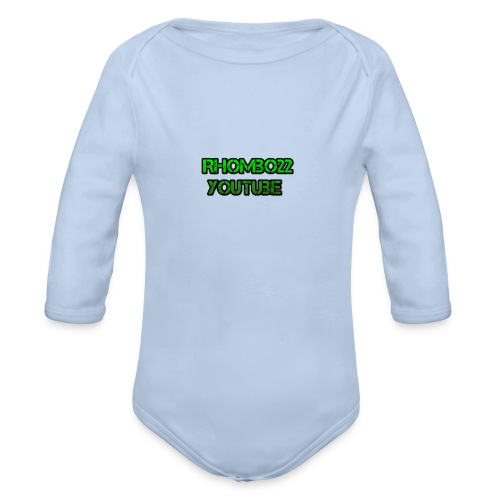 Hoodie Rhombo22 YouTube - Baby Bio-Langarm-Body