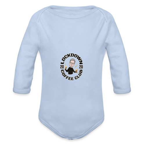 Lockdown Coffee Club 2020 - Organic Longsleeve Baby Bodysuit
