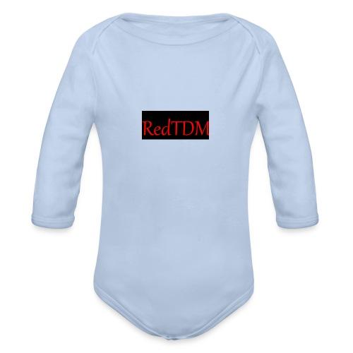 RedTDM - Organic Longsleeve Baby Bodysuit