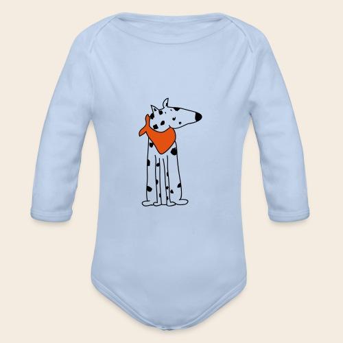 mignon dalmatien - Body Bébé bio manches longues