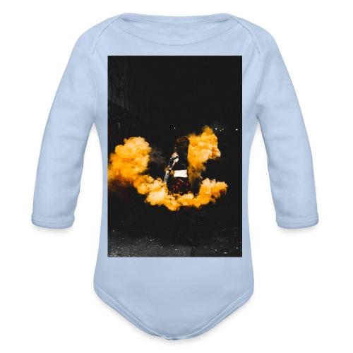 leake street dragon - Organic Longsleeve Baby Bodysuit