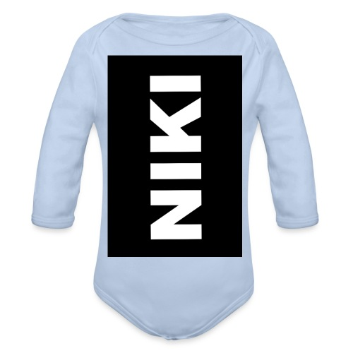 NIKI am Handy - Baby Bio-Langarm-Body