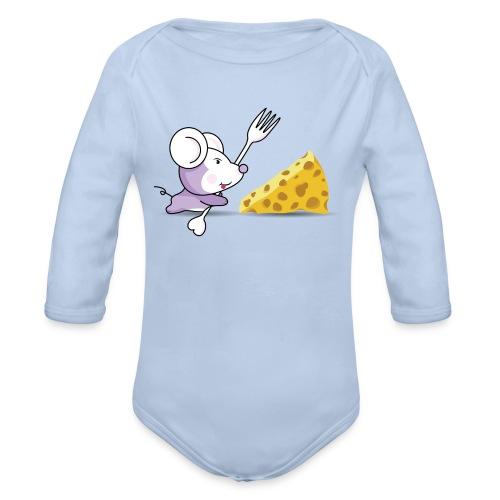 ratonyqueso - Body orgánico de manga larga para bebé
