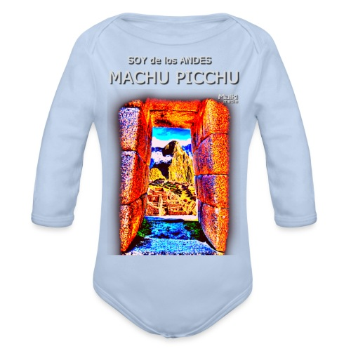 SOJA de los ANDES - Machu Picchu I. - Baby Bio-Langarm-Body