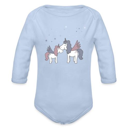 Little Unicorn - Baby Bio-Langarm-Body