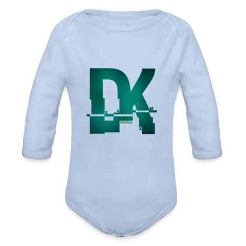 Dk hacked logo tshirt - Body bébé bio manches longues