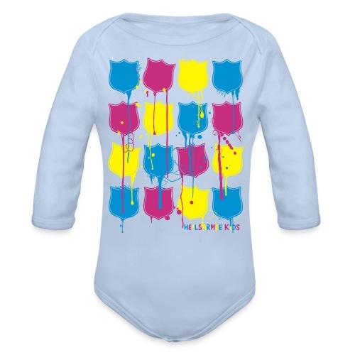 Kids Shirts Lots of Shields - Baby Bio-Langarm-Body