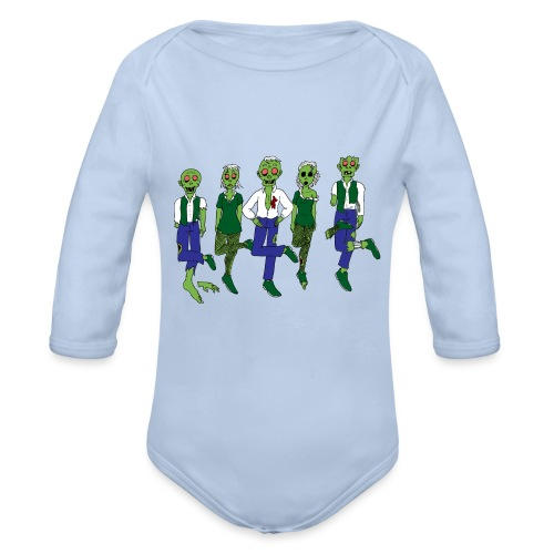 lord of the - Organic Longsleeve Baby Bodysuit