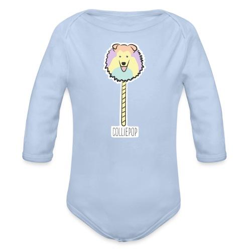 Colliepop - Baby Bio-Langarm-Body