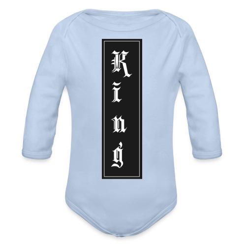 Panteon - Baby Bio-Langarm-Body