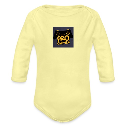 pro gamer magliette grembiule da cucina - Body ecologico per neonato a manica lunga