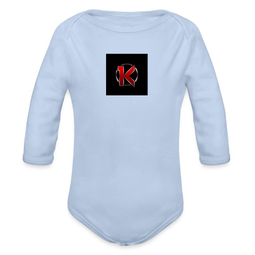 Logo - Langærmet babybody, økologisk bomuld