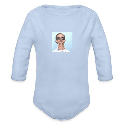 MY DAD - Økologisk langermet baby-body
