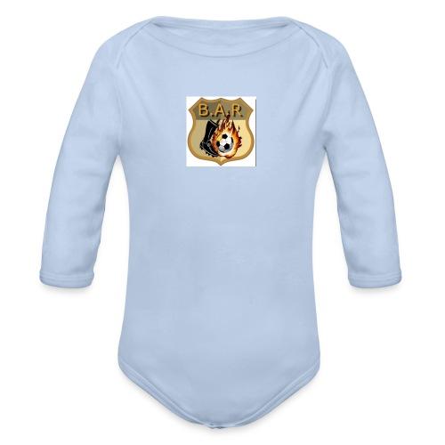 bar - Organic Longsleeve Baby Bodysuit