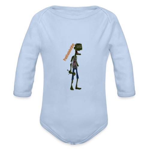 Frank00001 - Body orgánico de manga larga para bebé