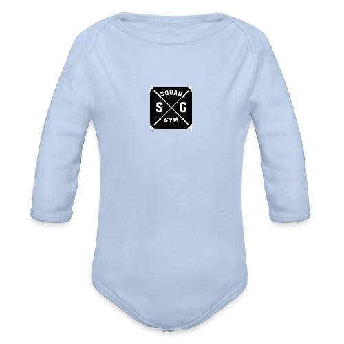 Gym squad t-shirt - Organic Longsleeve Baby Bodysuit