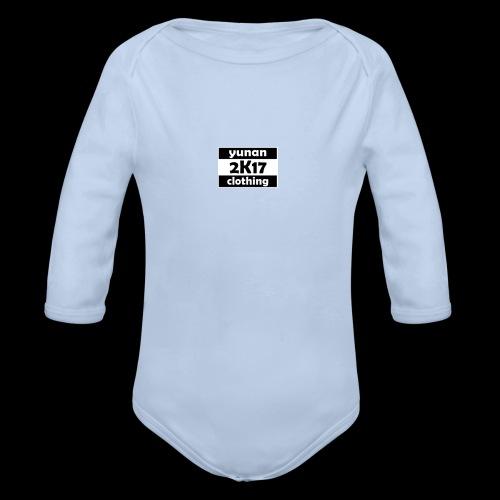 Yunan clothing 2k17 - Baby Bio-Langarm-Body