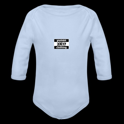 Yunan clothing 2k17 - Baby Bio-Langarm-Body