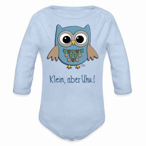 Kleiner Uhu - Baby Bio-Langarm-Body