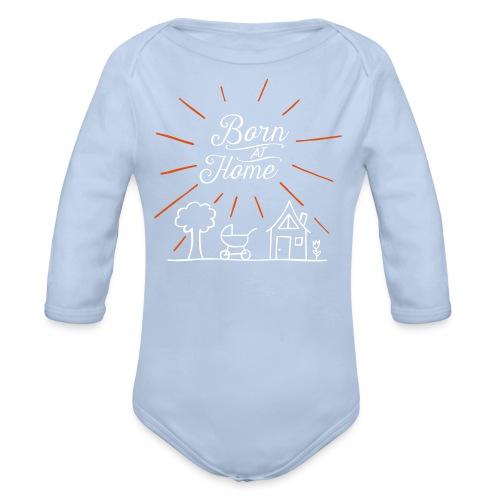 Born at Home - Baby Bio-Langarm-Body