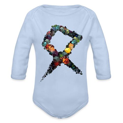 BDcraft Rune - Organic Longsleeve Baby Bodysuit