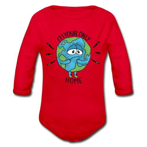 I'm your only Home - Organic Longsleeve Baby Bodysuit