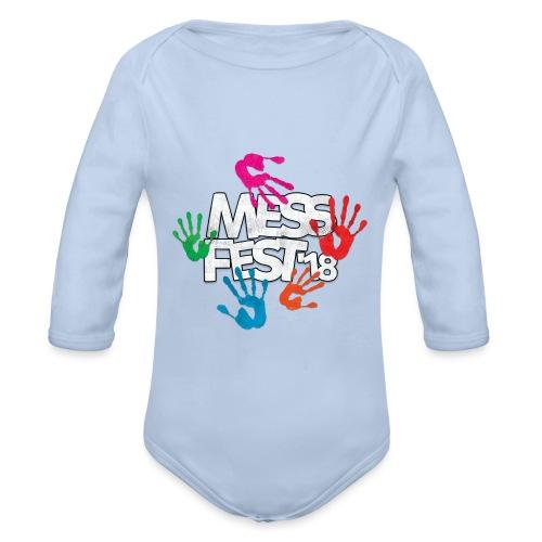 Mess Fest '18 - Organic Longsleeve Baby Bodysuit