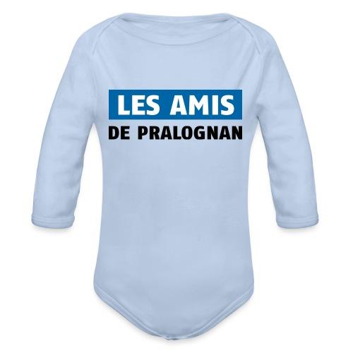 les amis de pralognan texte - Body Bébé bio manches longues