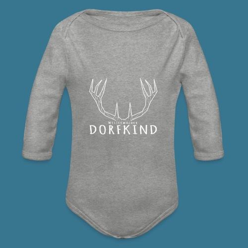 Dorfkinder - Baby Bio-Langarm-Body