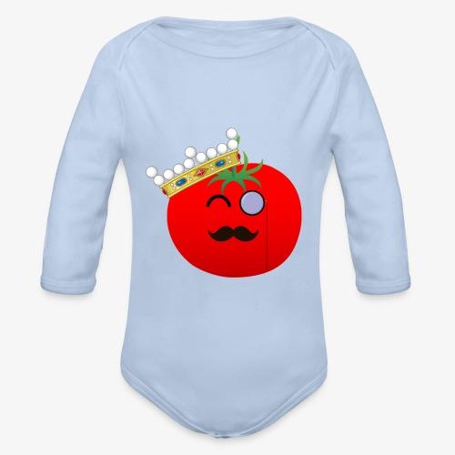 Tomatbaråonin - Ekologisk långärmad babybody