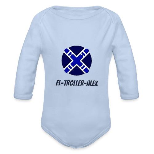 DISEÑO EL TROLLER ALEX EVO - Body orgánico de manga larga para bebé