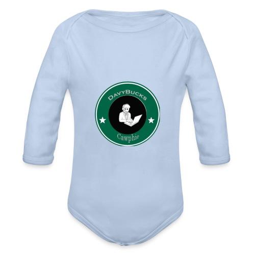 DavyBucks - Baby bio-rompertje met lange mouwen