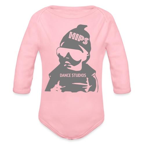 Cool Kid - Langærmet babybody, økologisk bomuld
