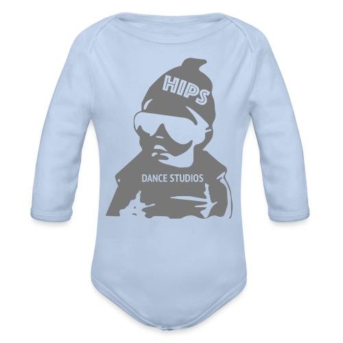 baby - Langærmet babybody, økologisk bomuld