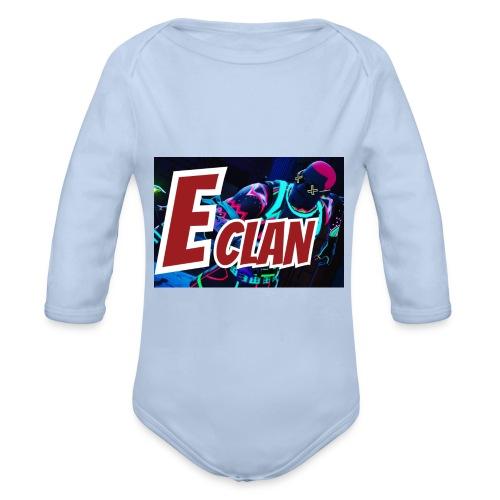 Elite x Clan Turnbeutel - Baby Bio-Langarm-Body