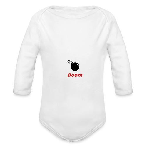 Bomba - Ekologiczne body niemowlęce z długim rękawem