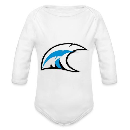 solo logo new - Body ecologico per neonato a manica lunga