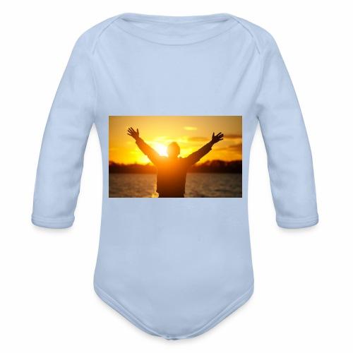 Camiseta Libre - Body orgánico de manga larga para bebé
